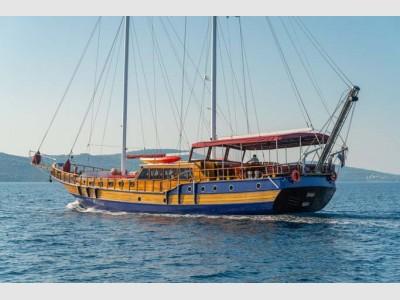 Custom Gulet Motor Sail 28 Mt