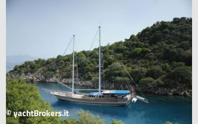 Customs Gulet 37 mt charter da AM Charter
